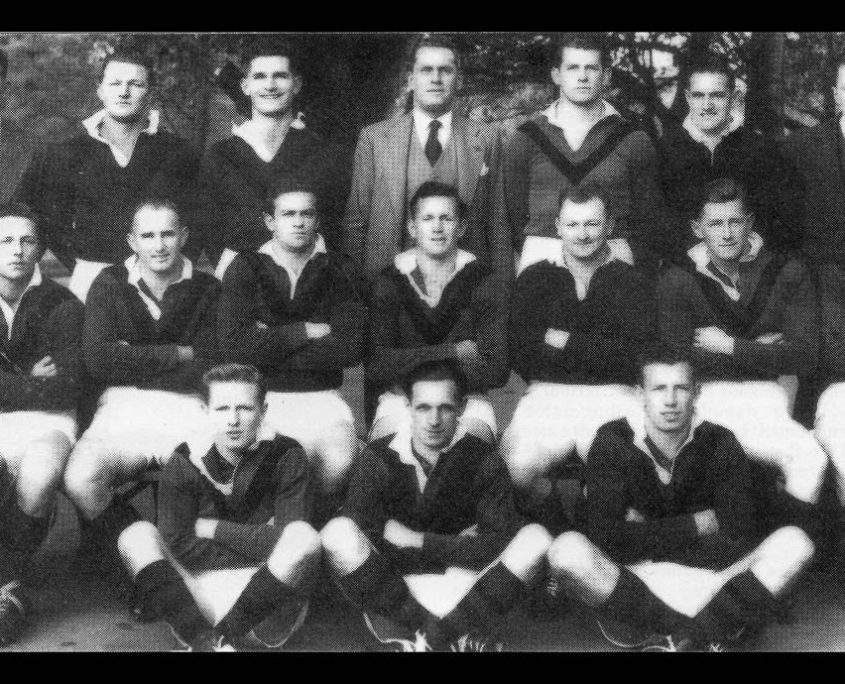 North Sydney District Rugby League Football Club 1952 - New South Wales Rugby League Finalists.