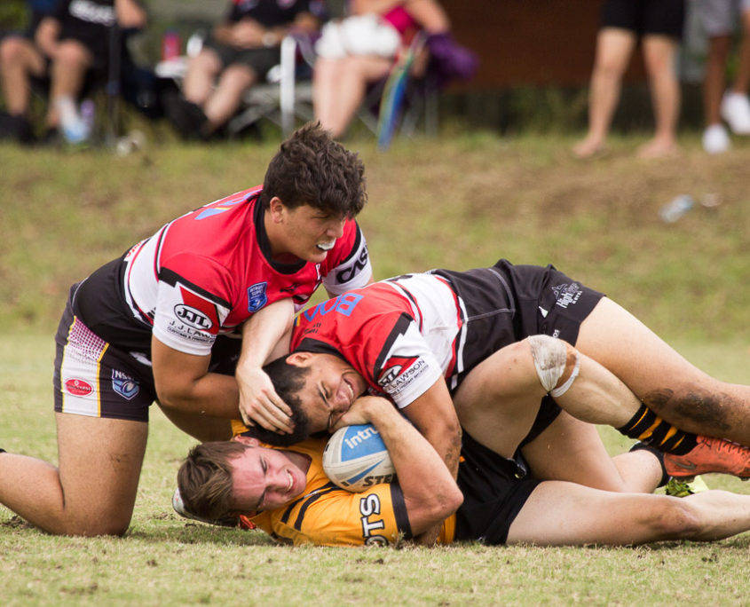 SG Ball Competition - Trial - North Sydney Bears vs Balamin Tigers - Leichhardt Oval