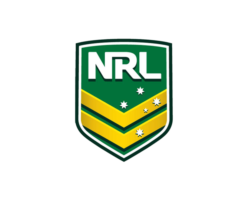NRL 2017 Logo on White Background