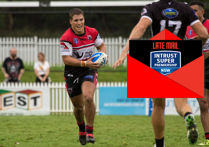 Cheyne Whitelaw - NSW Rugby League Senior Competition | Intrust Super Premiership [open age] Round 1 | Wentworthville Vs North Sydney | Henson Park | 04/03/2017 Photos by | Steve Little | www.redandblackzone.com