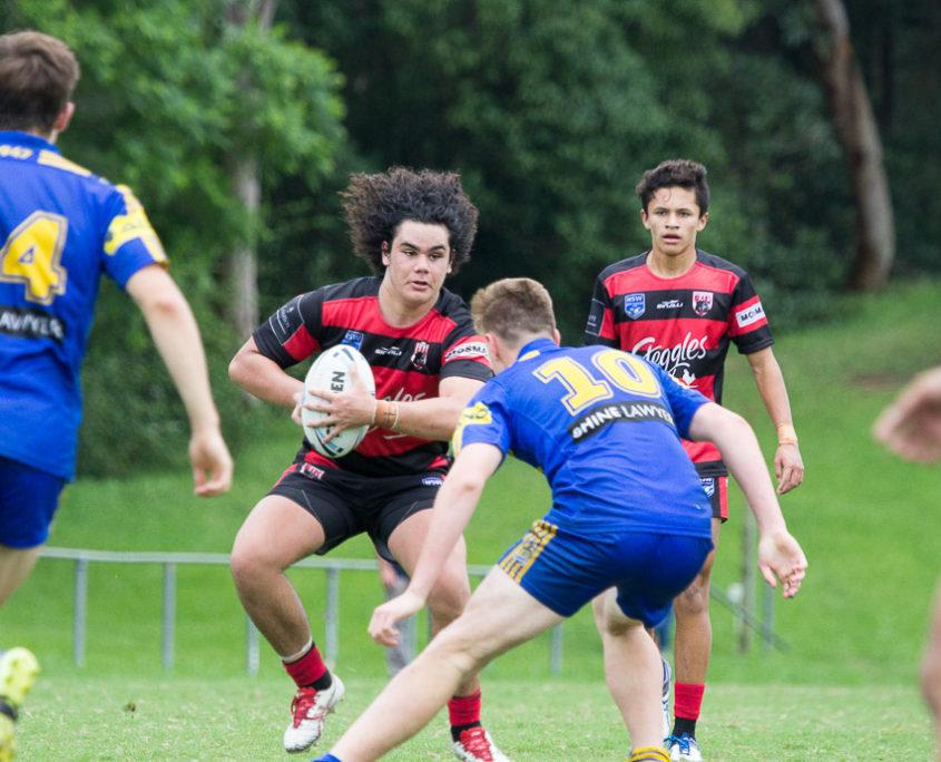 Jayden Tamala - Harold Matthews Cup | Round 6 | North Sydney Vs Parramatta | TG Milner Field | 19/02/2017 | Photos by | Steve Little | www.redandblackzone.com