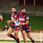 North Sydney's Piki Rogers has again been named on the Bears bench - Intrust Super Premiership | Round 7 | North Sydney Vs Wyong Roos | North Sydney Oval | 13/04/2017. Photo Steve Little www.redandblackzone.com.