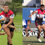 Image: Forward Cheyne Whitelaw & and Norths Tautalatasi Tasi, have been named in the New South Wales Intrust Super Premiership Residents side.