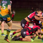 Image: Intrust Super Premiership | Round 7 | North Sydney Vs Wyong Roos | North Sydney Oval | 13/04/2017. Photo Steve Little www.redandblackzone.com.
