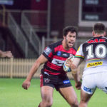 Image: South Sydney prop Toby Rudolf - Intrust Super Premiership [open age] | Round 17 | North Sydney Vs Penrith | North Sydney Oval | 30/06/2017. Photo Steve Little www.redandblackzone.com.