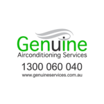 Logo: Genuine Air Conditioning Services - Major Sponsor