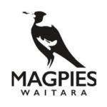 Logo: Magpies Waitara