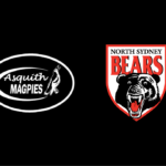 Logos: Asquith Magpies & North Sydney Bears