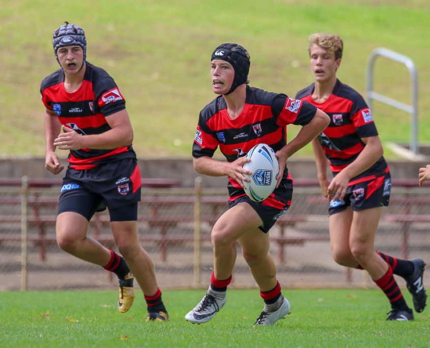 Image: SG Ball Cup | Round 1 | Manly-Warringah Vs North Sydney | Brookvale Oval | 10/02/2018. Photo Steve Little.