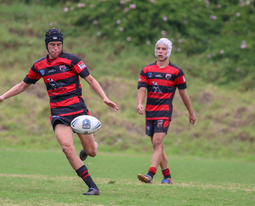Image: Centre Nick Russell - Harold Matthews Cup [U16] | Round 4 | North Sydney Vs Penrith Panthers | TG Milner Field | 4/03/2018. Photo Steve Little.