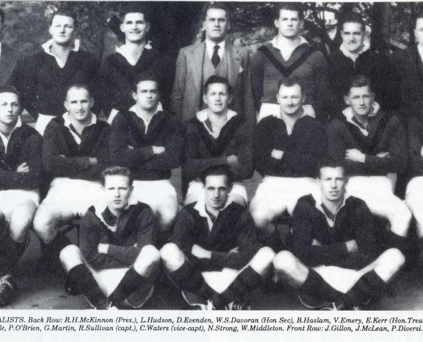 Image: North Sydney 1952 Finalists