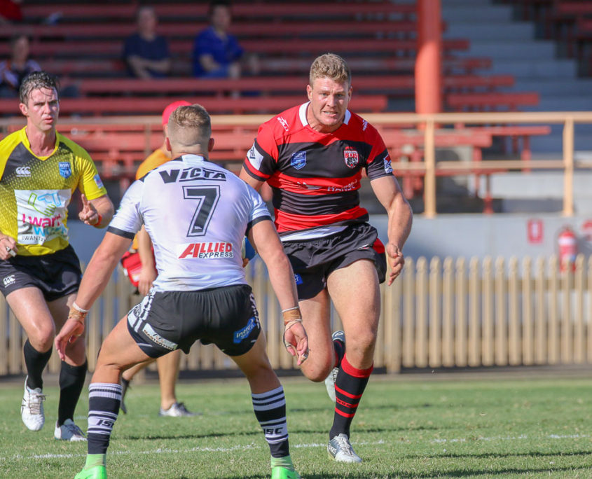 Image: Rys Kennedy - Intrust Super Premiership [Open Age] | Round 6 | North Sydney Vs Western Suburbs | North Sydney Oval | 14/04/2018. Photo Steve Little.