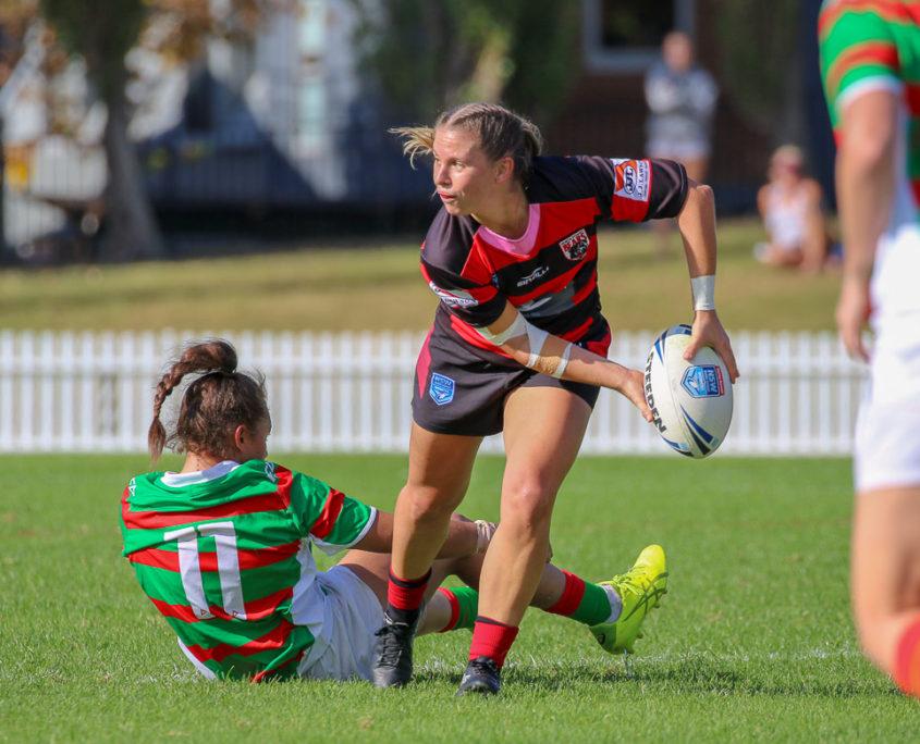 Image: Barbara Waddell - South Sydney Vs North Sydney | Erskineville Oval | 22/04/2018. Photo Steve Little.