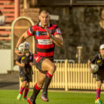 Image: Curtis Johnston on the fly - R10 NSW Cup 2014 | North Sydney Bears V Newcastle Knights