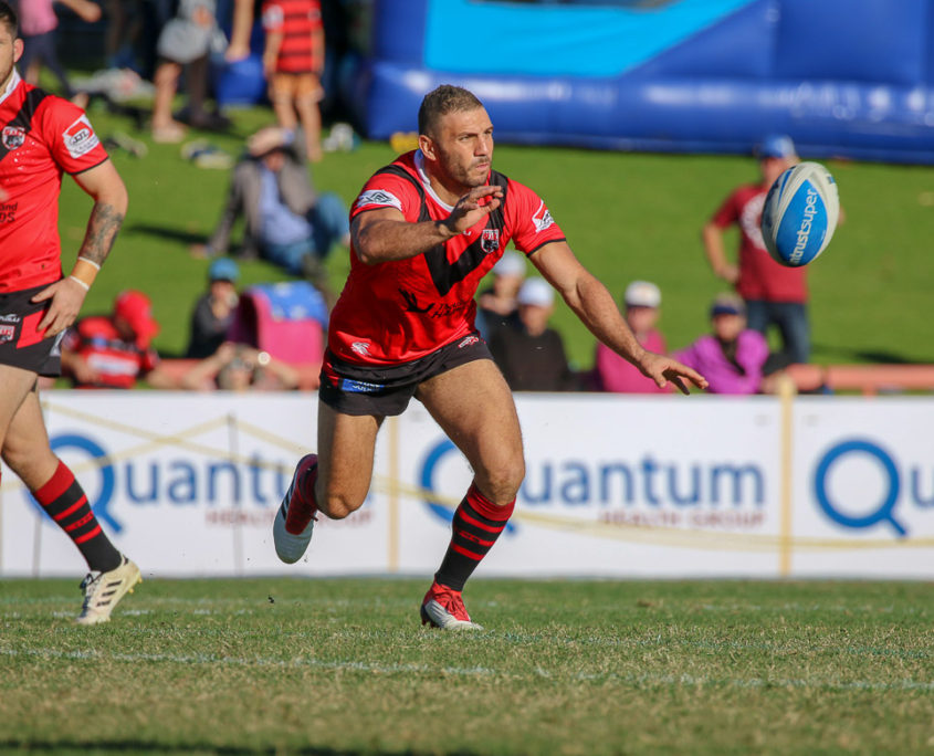 Image: Robbie Farah - Intrust Super Premiership | North Sydney Vs Blacktown | North Sydney Oval. Photo Steve Little.