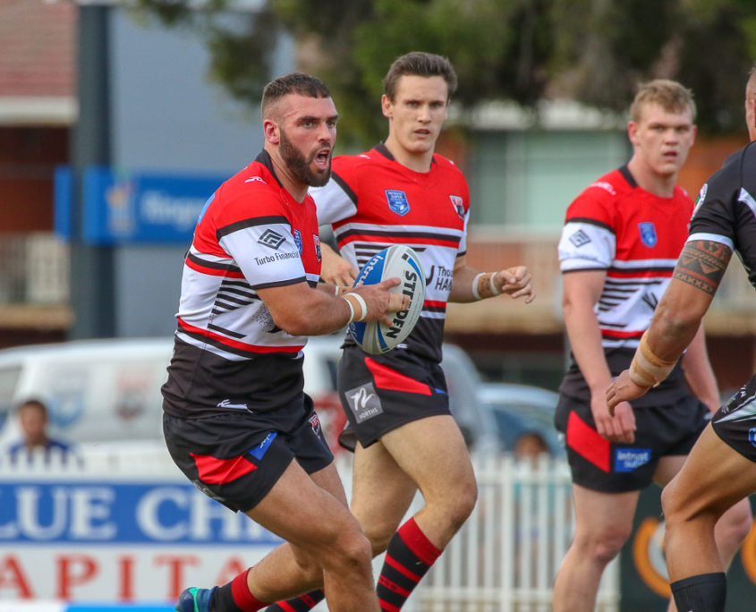 Image: Front rower Mark Nicholls - Intrust Super Premiership | Wentworthville Vs North Sydney | Ringrose Park. Photo Steve Little.