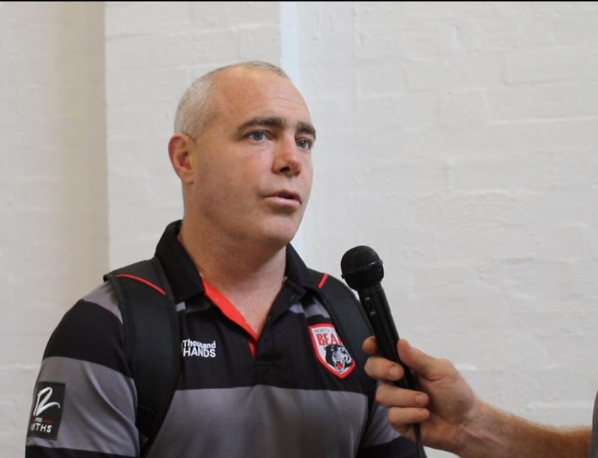 Image: Head Coach Shane Millard - Intrust Super Premiership | North Sydney Vs St George Illawarra | North Sydney Oval. Photo Steve Little.
