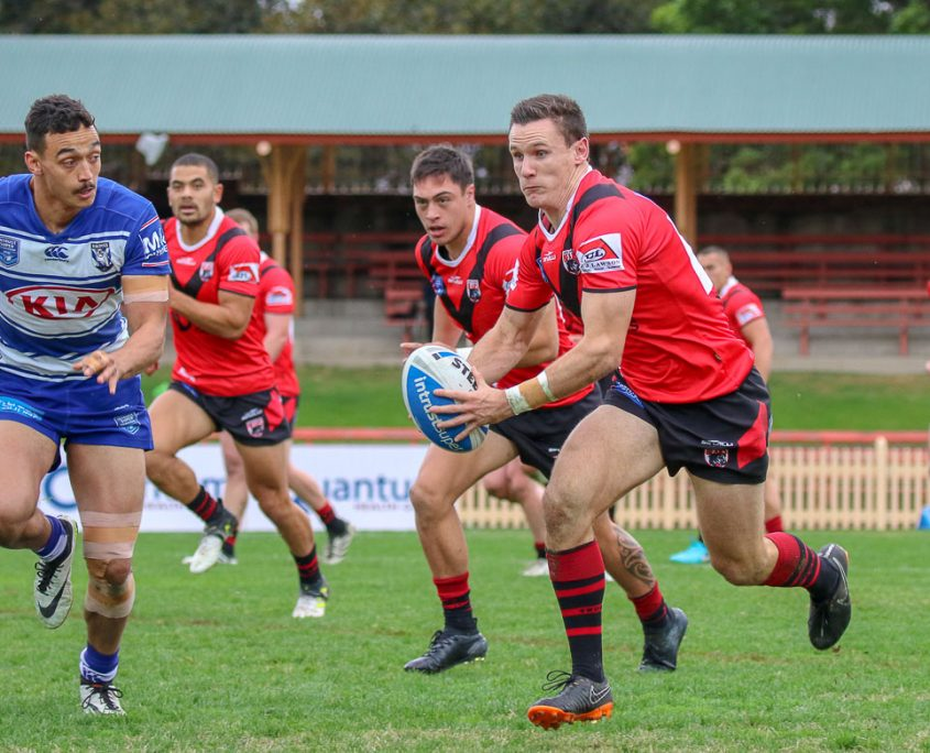 Image: Connor Tracey - Intrust Super Premiership | North Sydney Vs Canterbury-Bankstown | North Sydney Oval. Photo Steve Little.