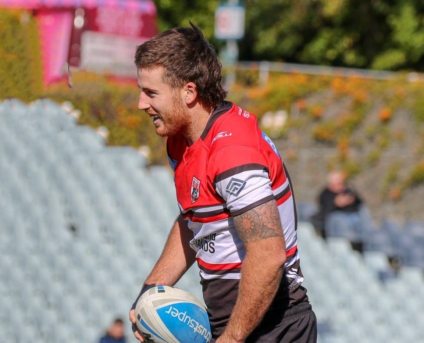 Image: Dean Britt - Intrust Super Premiership | Western Suburbs Vs North Sydney | Campbelltown Stadium. Photo Steve Little.